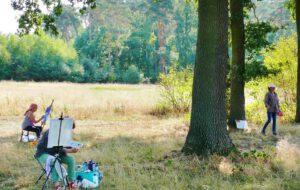 Malen im Wendland mit Jan Helbig